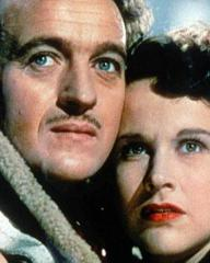 Photo of David Niven and Kim Hunter in A Matter of Life and Death (1946)