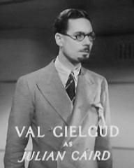 Main title from Death at Broadcasting House (1934) (8). Val Gielgud as Julian Caird