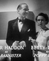 Main title from Death at Broadcasting House (1934) (9). Peter Haddon as Guy Bannister, Betty Ann Davies as Poppy Levine