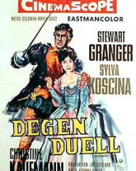 German poster for Degen Duell [Swordsman of Siena] (1962) (1)