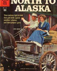 North to Alaska Comic magazine with John Wayne in North to Alaska.