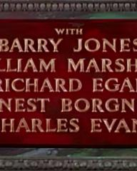 Main title from Demetrius and the Gladiators (1954) (6). With Barry Jones, William Marshall, Richard Egan, Ernest Borgnine, Charles Evans