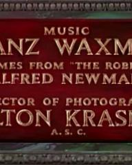 Main title from Demetrius and the Gladiators (1954) (9)