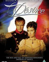 Marlon Brando (as Napoleon Bonaparte) and Jean Simmons (as Desiree Clary) in a DVD cover of Desiree (1954) (1)