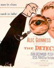 American poster for The Detective [Father Brown] (1954) (1)