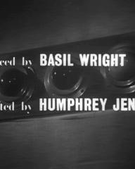 Main title from A Diary for Timothy (1945) (3). Produced by Basil Wright, directed by Humphrey Jennings