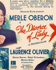 Poster for The Divorce of Lady X (1938) (1)