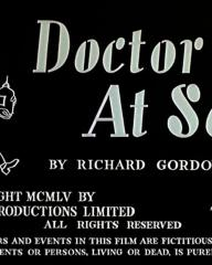 Main title from Doctor at Sea (1955) (4)
