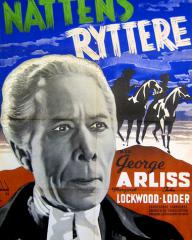 George Arliss (as Dr. Syn) in a Danish poster for Doctor Syn (1937) (1)