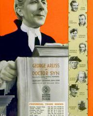 Poster for Doctor Syn (1937) (6)
