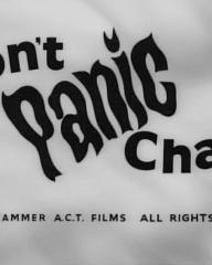 Main title from Don't Panic Chaps (1959).  Hammer ACT Films all rights reserved