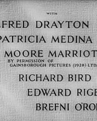 Main title from Don't Take It to Heart! (1944) (4). Alfred Drayton, Patricia Medina, Moore Marriott, Richard Bird, Edward Rigby, Brefni O'Rorke