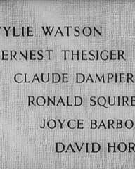 Main title from Don't Take It to Heart! (1944) (5). Wylie Watson, Ernest Thesiger, Claude Dampier, Ronald Squire, Joyce Barbour, David Horne