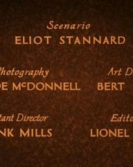 Main title from Downhill (1927) (5)