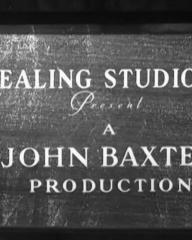 Main title from Dreaming (1944) (1). Ealing Studios present a John Baxter Production
