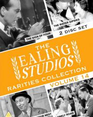 The Ealing Studios Rarities Collection DVD – Volume 14 from Network as part of the British Film collection. Features The Sign of Four, The Water Gipsies, Feather Your Nest, Lonely Road.