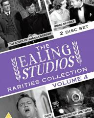 The Ealing Studios Rarities Collection DVD – Volume 4 from Network as part of the British Film collection. Features The Loves of Joanna Godden, Birds of Prey, Davy, The Secret of the Loch