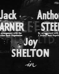 Main title from Emergency Call (1952) (2). Jack Warner Anthony Steel, Joy Shelton in