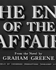Main title from The End of the Affair (1955) (3). From the novel by Graham Greene