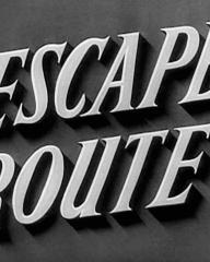 Main title from Escape Route (1952) (3)