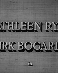 Main title from Esther Waters (1948) (3). Kathleen Ryan, Dirk Bogarde in