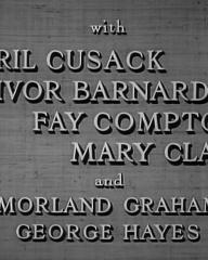 Main title from Esther Waters (1948) (5). With Cyril Cusack, Ivor Barnard, Fay Compton, Mary Clare and Morland Graham, George Hayes