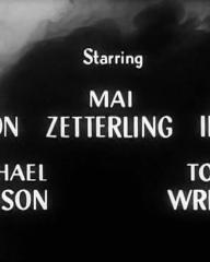 Main title from Faces in the Dark (1960) (3).  Starring John Gregson Mai Zetterling, John Ireland, Michael Denison, Tony Wright