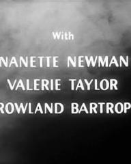 Main title from Faces in the Dark (1960) (4).  With Nanette Newman Valerie Taylor, Rowland Bartrop