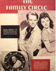 Family Circle magazine with Margaret Lockwood, Douglas Fairbanks, and  Jr in Rulers of the Sea.  20th October, 1939, volume 15, issue number 16.