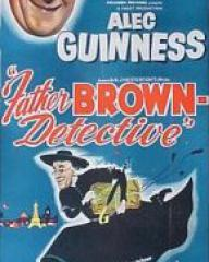 Australian poster for Father Brown (1954) (1)