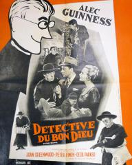 French poster for Father Brown (1954) (3)