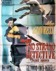 Italian poster for Father Brown (1954) (1)