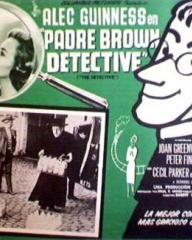 Mexican lobby card from Father Brown (1954) (1)