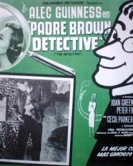 Mexican lobby card from Father Brown (1954) (3)
