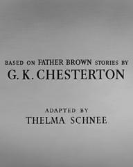 Opening credits from Father Brown (1954) (4). Based on Father Brown stories by G K Chesterton