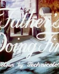 Main title from Father's Doing Fine (1952) (3)  Colour by Technicolor