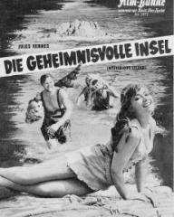 Illustrierte Film Bühne magazine with Beth Rogan in Mysterious Island.  (German).  Die geheimnisvolle Insel.