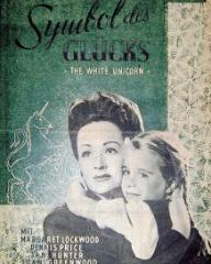 Film Bühne magazine with Margaret Lockwood and  Julia Lockwood in The White Unicorn.  1947, issue number 211.  (German).  Symbol des Glücks.