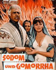 Illustrierte Film Bühne magazine with Stewart Granger in Sodom and Gomorrah.  1962, issue number 6370.  (German)