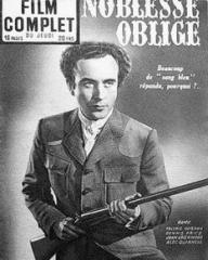 Film Complet magazine with Dennis Price in Kind Hearts and Coronets.  27th August, 1953, issue number 396.  (French).  Noblesse Oblige.