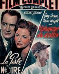 Film Complet magazine with Ian Hunter and  Margaret Lockwood in Bedelia.  6th January, 1949, issue number 166.  (French)