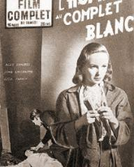 Film Complet magazine with Joan Greenwood in The Man in the White Suit.  4th July, 1950, issue number 381.  (French).  L'homme au complet blanc.