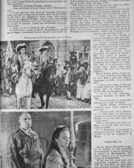 Film Complet magazine with Peter Bull and  Joan Greenwood in Saraband for Dead Lovers.  28th September, 1950, issue number 225.  (French)