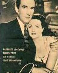 Filmpost magazine with Ian Hunter and  Margaret Lockwood in The White Unicorn.  (German).  Symbol des Glücks.