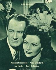 Filmpost magazine with Ian Hunter and  Margaret Lockwood in Bedelia.  Issue number 290.  (German)