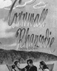 Filmpost magazine featuring Love Story.  Issue number 140.  (German).  Cornwall Rhapsodie.