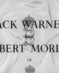 Main title from The Final Test (1953) (3).  Jack Warner and Robert Morley in