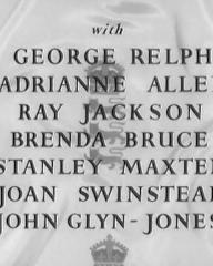 Main title from The Final Test (1953) (5).  George Relph Adrianne Allen, Ray Jackson, Brenda Bruce, Stanley Maxted, Joan Swinstead, John Glyn-Jones