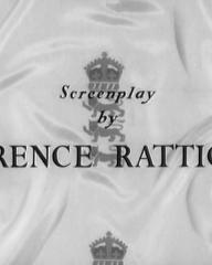 Main title from The Final Test (1953) (7).  Screenplay by Terence Rattigan