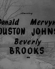 Main title from Find the Lady (1956) (2). Starring Donald Houston, Mervyn Johns, Beverley Brooks in